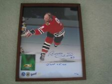 Bobby Hull Autographed & Framed 16x20 Photo - Channel Sports