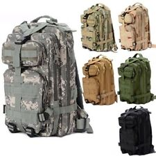 Outdoor Military Rucksacks Tactical Molle Backpack Camping Hiking Trekking New
