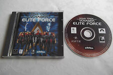 STAR TREK VOYAGER ELITE FORCE APPLE MAC V.G.C. FAST POST ( FPS shooter game )
