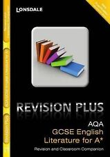 Lonsdale GCSE Revision Plus - AQA English Literature for A: Revision and Classro