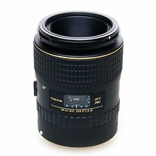 Tokina AT-X PRO D 100mm f/2.8 Macro (Canon EF) w/Hoya UV Filter *NEW*