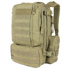 Condor 169 TAN Convoy Outdoor Pack MOLLE Modular Backpack Bail Bug Out Bag