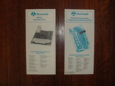 Rockwell AIM-65  New Old Stock  Summary Card & 6500 Programming Reference Card
