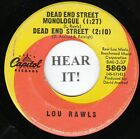 Lou Rawls NORTHERN EP (Capitol 5869) Dead End Street Monologue/Yes It Hurts