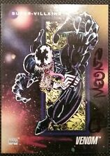 1 VENOM MARVEL UNIVERSE SERIES III TRADING CARD #108 SIGNED BY PAUL MOUNTS