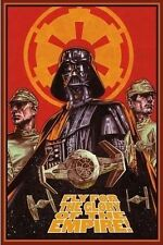 Star Wars (LAMINATED) POSTER Fly For The Glory Of The Empire, Space NEW Licensed