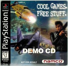 """Playstation Namco """"Cool Games. Free Stuff."""" Demo SLUS-900008 with sleeve"""