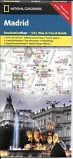 Map of Madrid, Spain, by National Geographic DestinationMaps