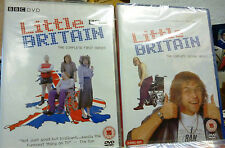 LITTLE BRITAIN THE COMPLETE FIRST & SECOND SERIES DVDs (SEALED)