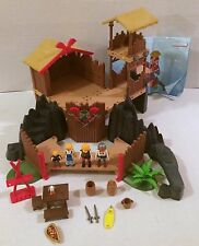 Playmobil 3151 Viking Longhouse with Manual RARE HTF!