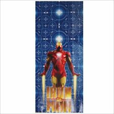 IRON MAN 2 CELLO FAVOR BAGS (16) ~ Birthday Party Supplies Treat Loot Goody Red
