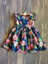 "Persnickety Toddler Girl's Floral Flutter Wildflowers ""Maddie Dress 3/3T"