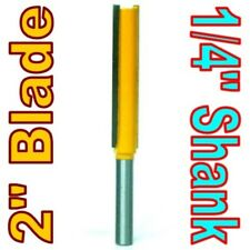 "1 pc 1/4"" SH 2"" Extra Long Straight Router Bit sct-888"