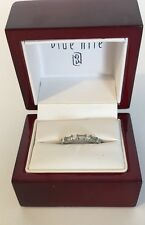 Diamond And Platinum Band By Blue Nile- Size. 5.5- Original $1200