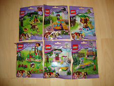 Lego Friends Animals Series 1 & 2 - NEW