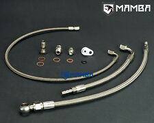 MAMBA Turbo Oil & Water line For Mercedes Benz AMG A45 CLA45 M133 w/ GT28R GT30R