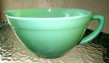 Anchor Hocking Fire King Jadite 1.5 Qt Batter Bowl-Made in USA-C. 1955-1959