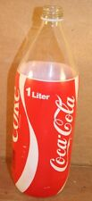 Coca-Cola Foam Wrap Bottle, German, 1 Liter, 1983, Screw Top