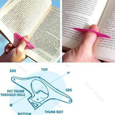 Utility 5pcs Multifunction Thumb Book Page Holder Marker Convenient Book Markers