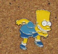 A70 VINTAGE PIN CARTOON CHARACTER BD THE SIMPSONS BART WALKING SLOWLY