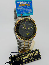 CITIZEN Promaster AB4004-59E Wingman Quattro 3110-C10012 New Tags Vintage