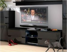 Aspire EXTRA LUCIDA NERA TV STAND unità media LOUNGE mobili con LED p980as30