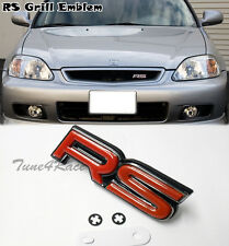 RS Grill Red Emblem logo badge sticker AUDI TT Focus Vitz Yaris honda Fit JDM