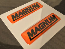 STIHL MS 440 MS 460 066 MS 660 MAGNUM DOMED 3D STICKER DECALS PAIR