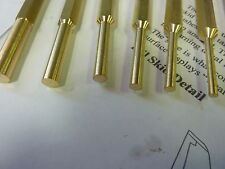 brass punch set punches pry bar safety tools mallet hammer body panel work free
