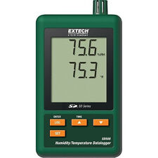 Extech sd500 SD-serie hygro termómetro data loger Thermo data logger sd-500