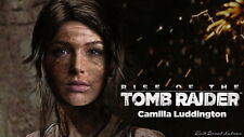 """040 Rise of The Tomb Raider - Upcoming Action Adventure Game 25""""x14"""" Poster"""