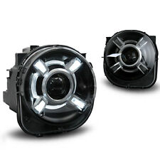 HID Headlamp Projector Headlights Assembly w DRL for Jeep Renegade 2015-2016