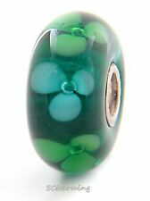 Authentic Trollbeads Glass Forest Flowers 61445