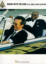 Bb King & Eric Clapton Riding With The King Blues Pop Tablatura Para Guitarra Música Libro
