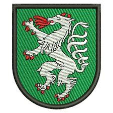 Steyr Stadtwappen Österreich Patch Aufnäher Aufbügler Wappen Austria Flagge