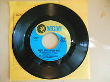 MIKE CURB CONGREGATION Sweet Gingerbread Man/Fly Me A Place for The Summer  45