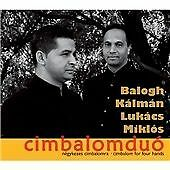 Balogh Kalman/And Miklos Lukac-Cimbalom For Four Hands  CD NEW