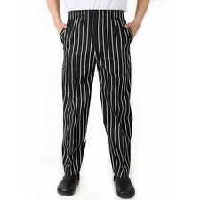 Chef Working Pants Fashion Totel Restaurant Comfy Elastic Cook Work Trousers Hot