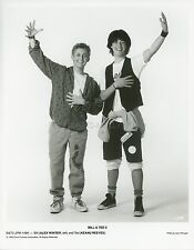 ALEX WINTER  KEANU REEVES  BILL AND TED  2 1990 VINTAGE PHOTO ORIGINAL