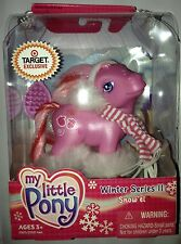 My Little Pony G3 Christmas Figure SNOW'EL 2003 Brand New