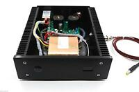 Black 100VA 19V 4.2A Low Noise R-core DC LPS Linear Power Supply +display