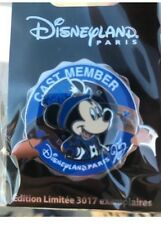 Pins Cast Members 25 ème anniversaire limited edition
