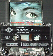 Smoke City ‎Underwater Love CASSETTE SINGLE 2 TRACK JIVE C422 House Levi ad