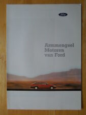 FORD Engines brochure prospekt folder- c1987 - Dutch