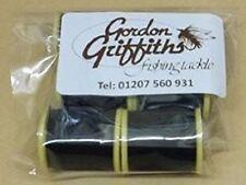 Gordon Griffiths Thread Wisp Microfine 8/0 Black 6 Pack (WISP)