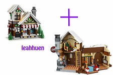 LEGO Santa's Workshop & Toy Shop Only (No minifigures /accessories)  10245 10249