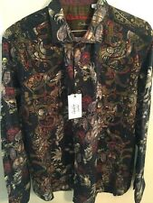 NWT ROBERT GRAHAM MENS TRIBES OF GALWAY LIMITED EDITION SHIRT 2XL XXL