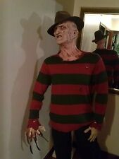 FREDDY KRUEGER NIGHTMARE ELM ST life sized prop statue comic con horror figure