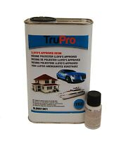 1kg TruPro Polyester Resin (Lloyds Approved) & Catalyst - GRP Repairs