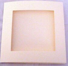 Aperture Cards 144mm Square 3 Fold with envelopes YOU PICK COLOURS & PACK SIZE